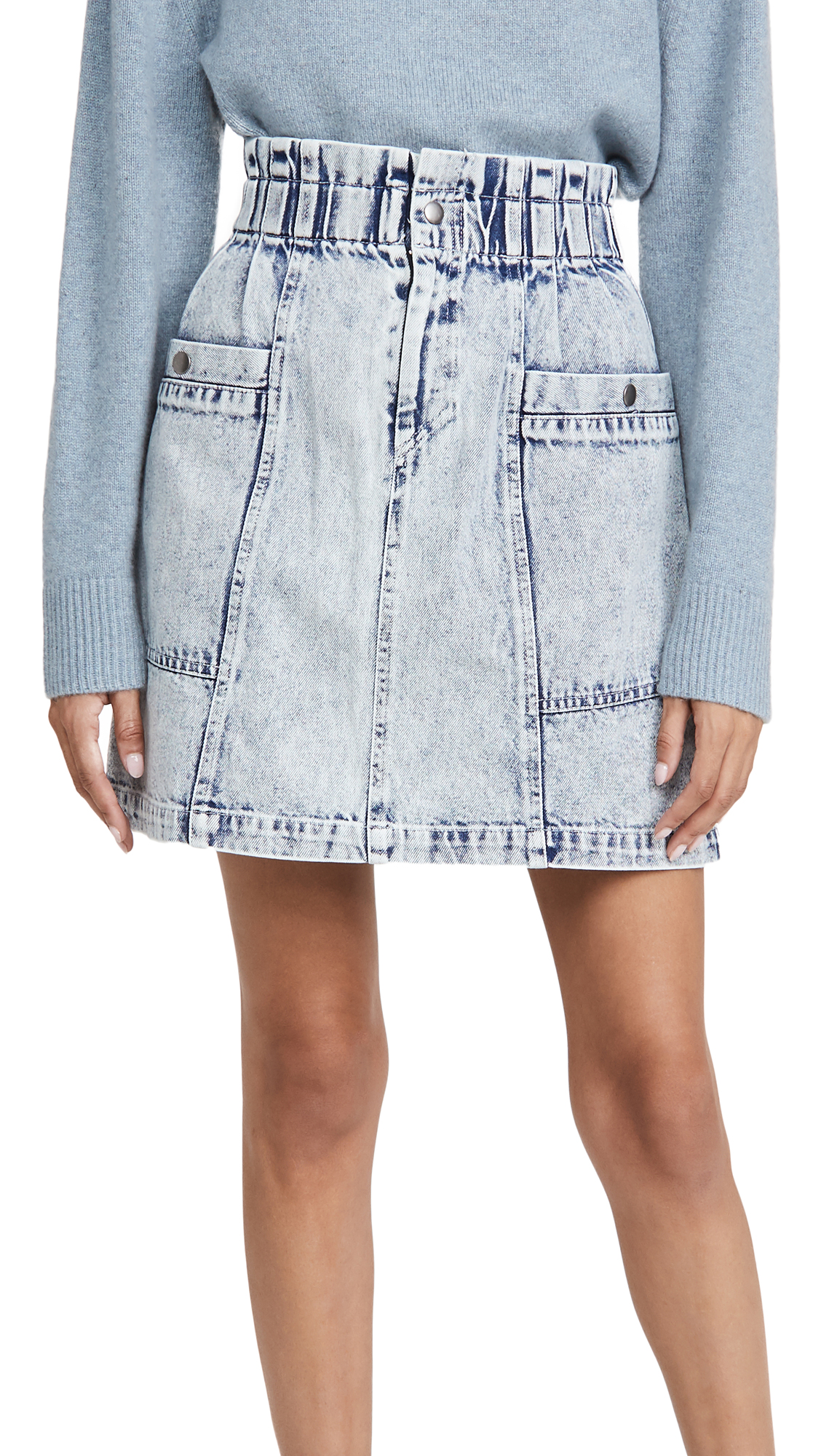 Sea Betty Acid Wash Mini Skirt