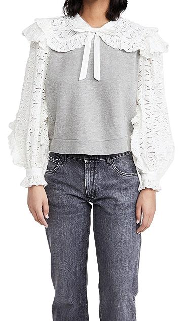 Sea Ingrid Combo Sweatshirt
