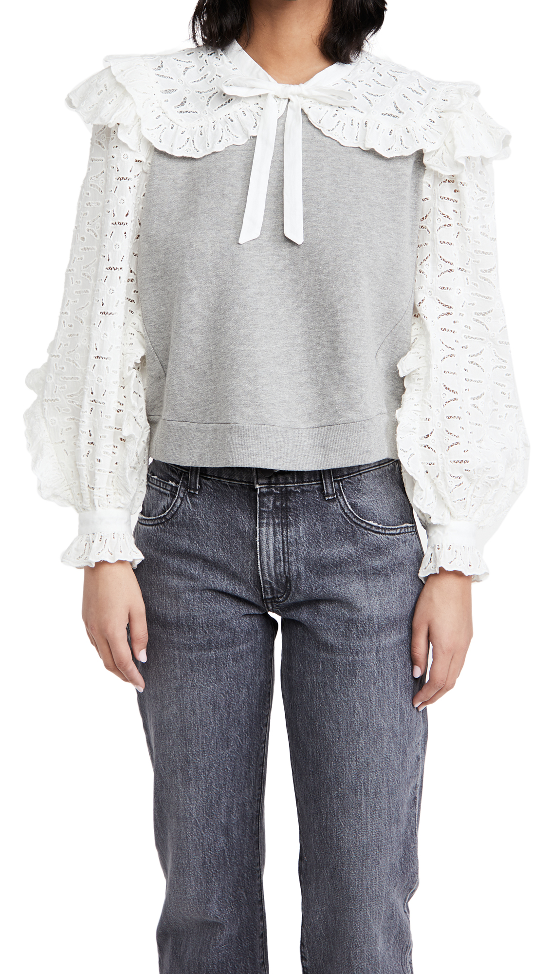 Sea Ingrid Combo Sweatshirt