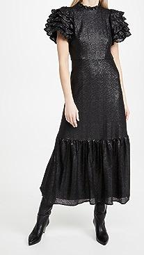 Sea Rachelle Ruffle Sleeve Gown