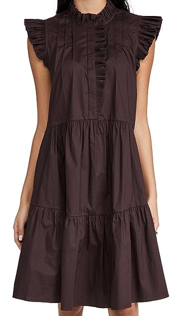 Sea Karla Flutter Sleeve Dress