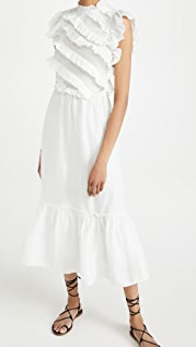 Sea Eleanor 层褶长裙