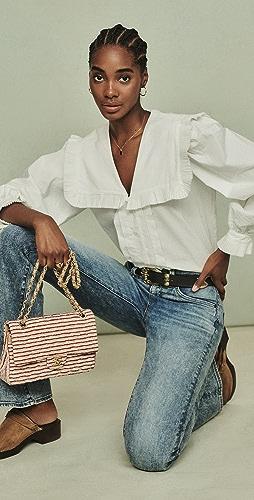 Sea - Charlie 棉质裥褶女式衬衫