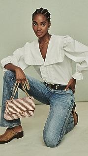 Sea Charlie 棉质裥褶女式衬衫