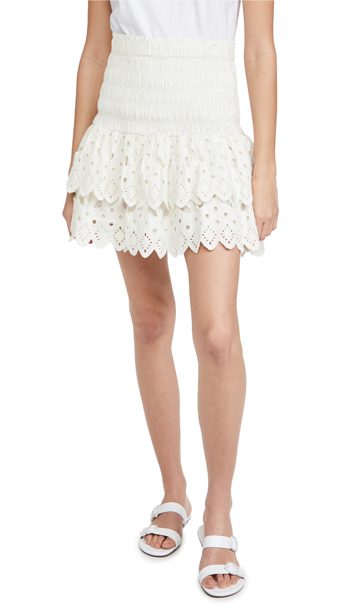 Sea Hazel Eyelet Skirt
