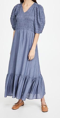 Sea - Eleanor Long Sleeve Dress