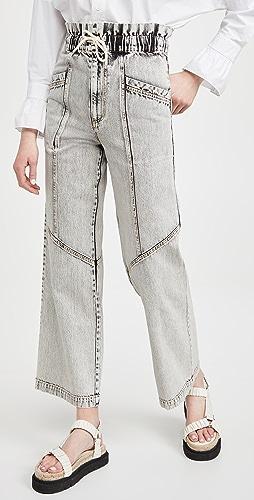 Sea - Dax 酸洗牛仔裤