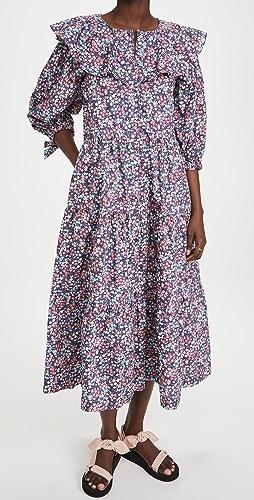 Sea - Lissa Puff Sleeve Dress