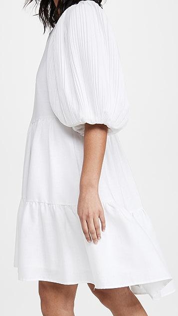 Sea Bailey Broomstick 层褶连衣裙