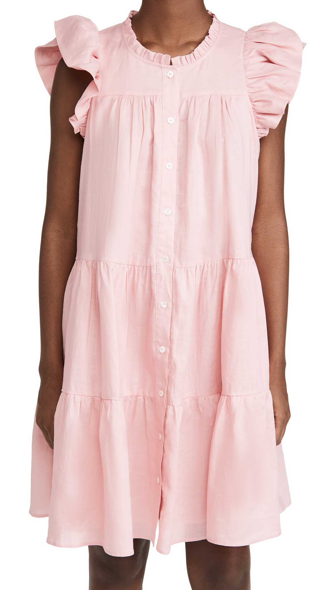 Sea Shannon Scallop Button Down Dress