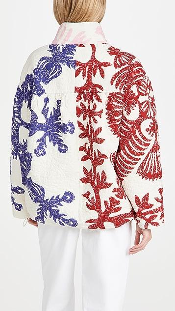 Sea Henrietta 印花绗缝夹克
