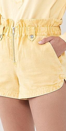 Sea - Maura 酸洗短裤