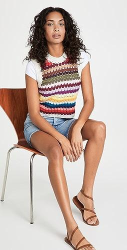 Sea - Ziggy Crochet Vest