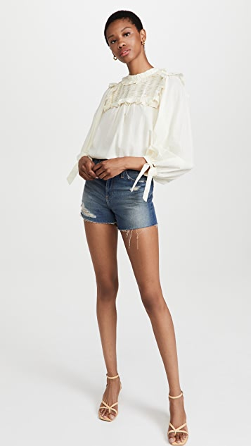 Sea Adrienne 棉长袖上衣