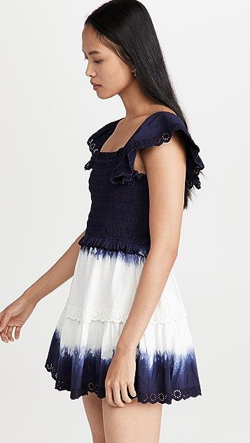 Sea Everlyn Short Sleeve Smocked Dress