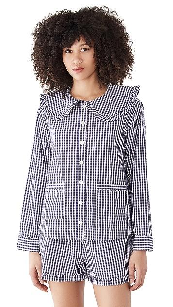 Sea Gina Gingham Pajama Set