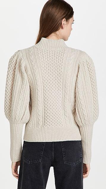 Sea Juliette Cable Stitch Sweater