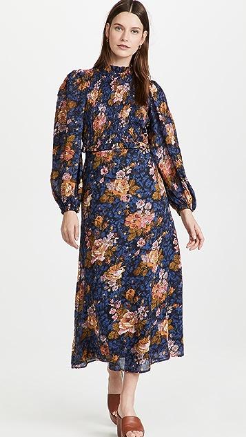 Sea Ines Floral Smocked Dress