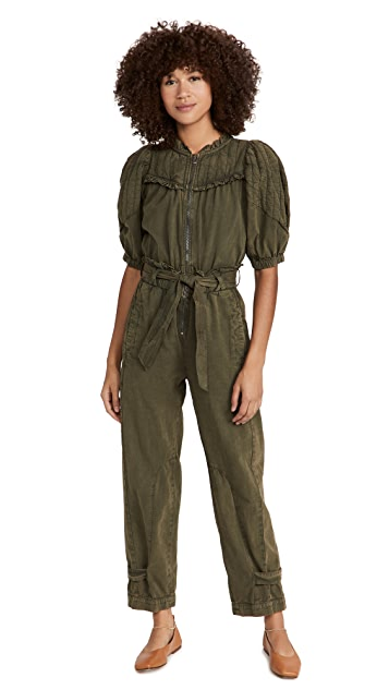 Sea Layla Quilted Sleeve Jumpsuit
