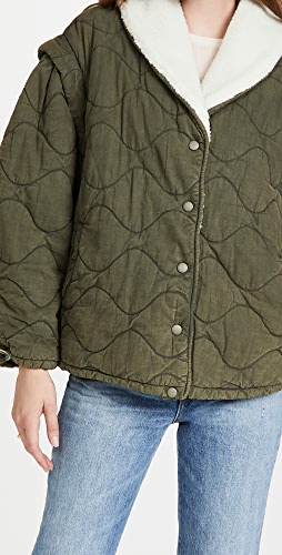 Sea - Layla Quilted Puffer Jacket