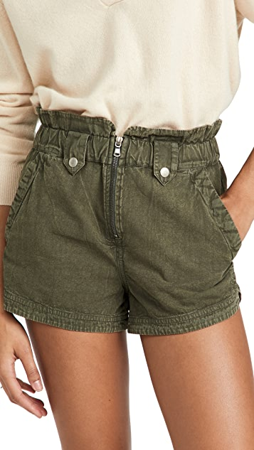 Sea Layla Canvas Shorts