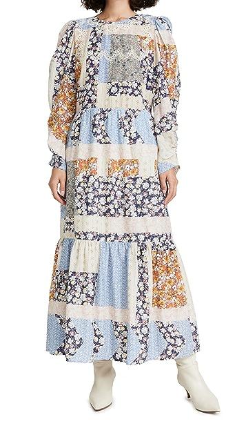 Sea Sydney Print Long Sleeve Dress