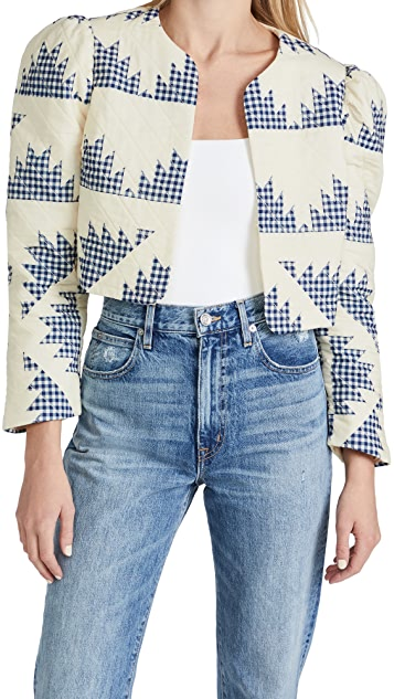 Sea Quilted Jacket
