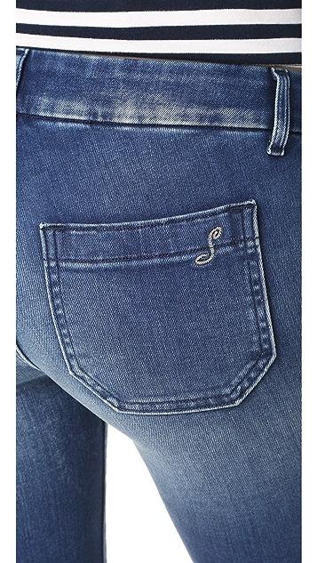 Seafarer Penelope Short Flare Jeans