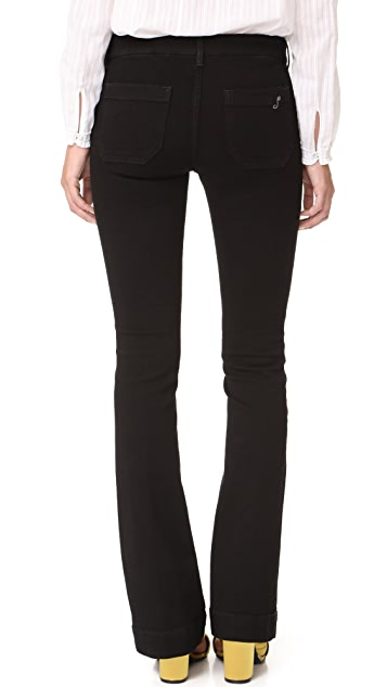 Seafarer New Penelope Laceup Flare Jeans