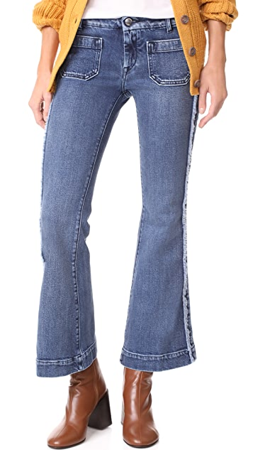 Seafarer Cropped Penelope Flare Jeans
