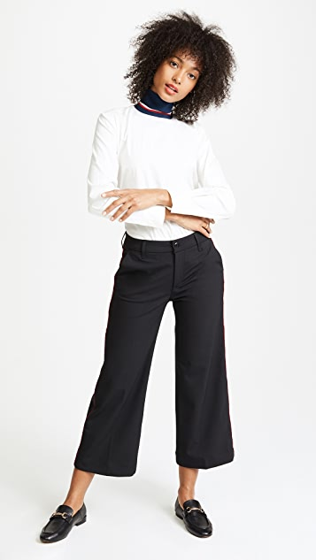 Seafarer Harry New Special Wide Leg Wool Trousers