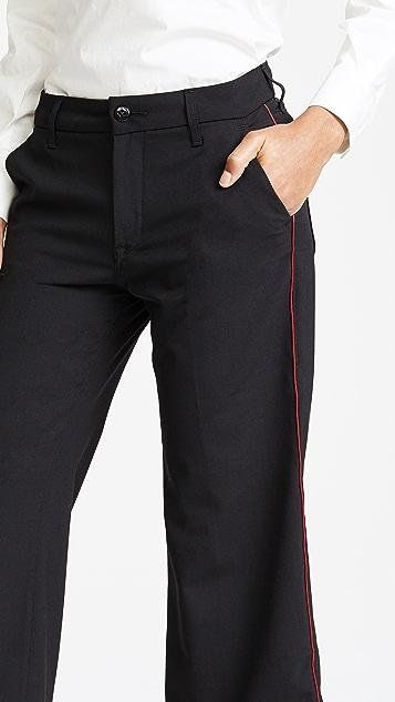 Seafarer Harry New Special Wide Leg Wool Trousers