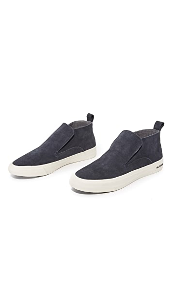 SeaVees 12/64 Huntington Mid Top Slip On Sneakers