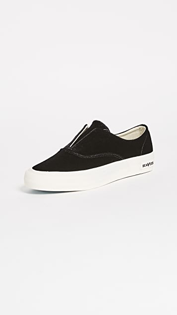 SeaVees Sunset Strip Sneakers - Black