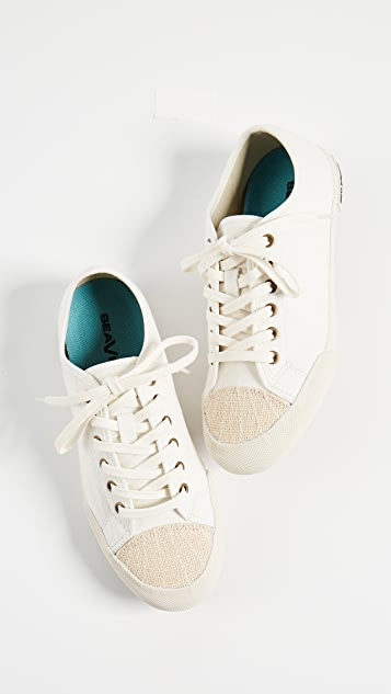 SeaVees Army Low Sneakers