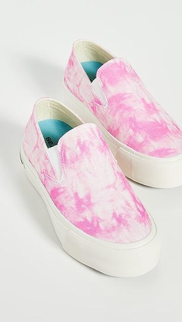 SeaVees Baja 厚底扎染运动便鞋