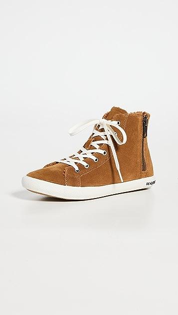 SeaVees Rockaway High Top Sneakers