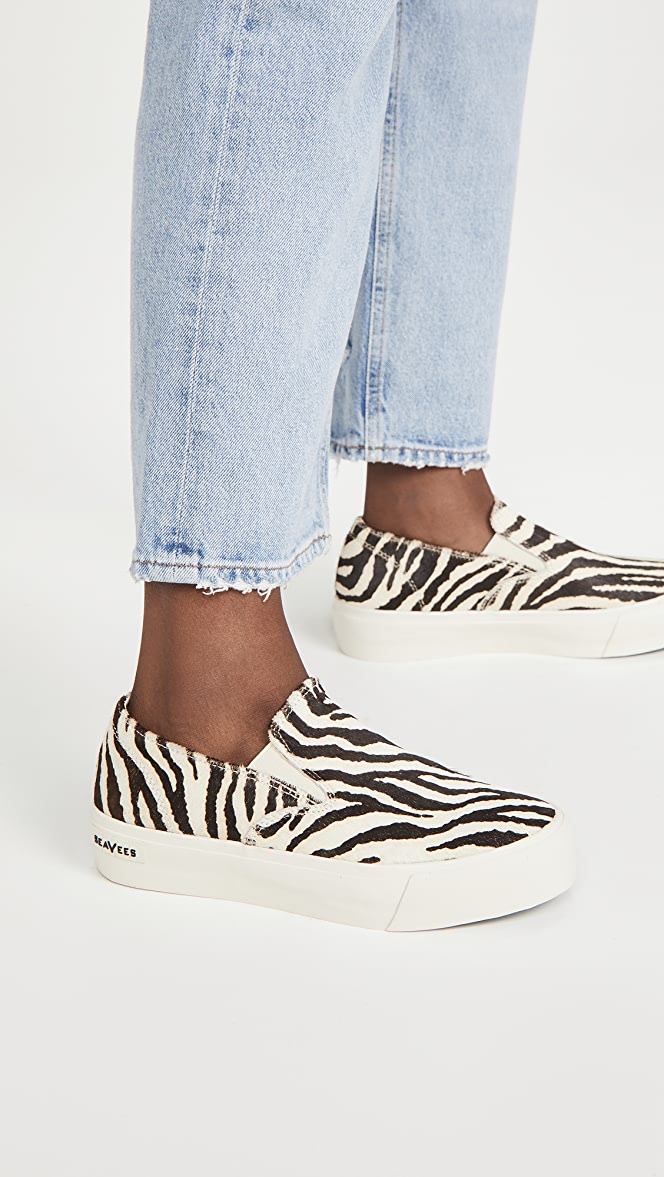 SeaVees Baja Platform Slip On Sneakers