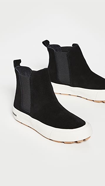 SeaVees Laguna 绒面革切尔西靴