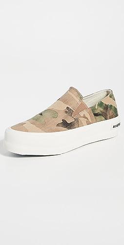 SeaVees - Baja Slip On Platform Sneakers