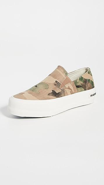 SeaVees Baja 一脚蹬厚底运动鞋