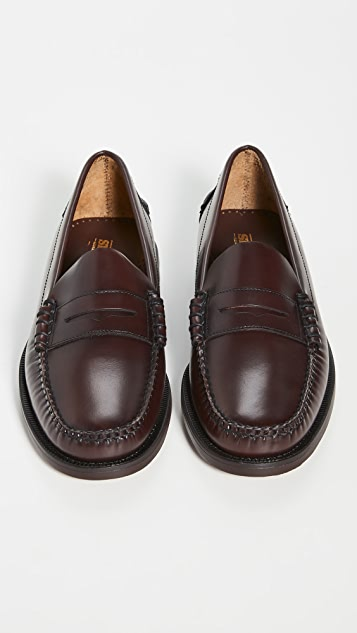 Sebago Classic Dan Leather Loafers