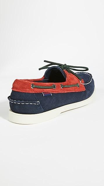 Sebago X Baracuta Dock Side Loafers