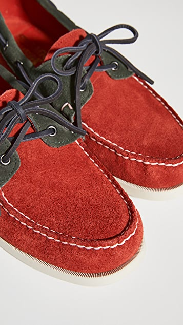 Sebago x Baracuta Dockside Loafers