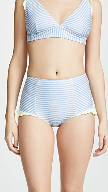 Seea Isabel High Waist Bikini Bottoms