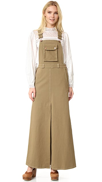 See by Chloe Overall Maxi Dress