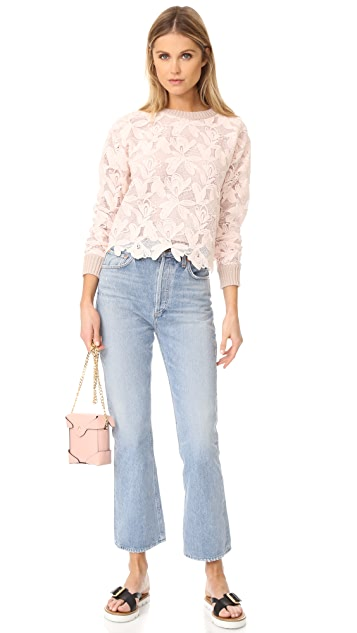 See by Chloe Lace Sweater