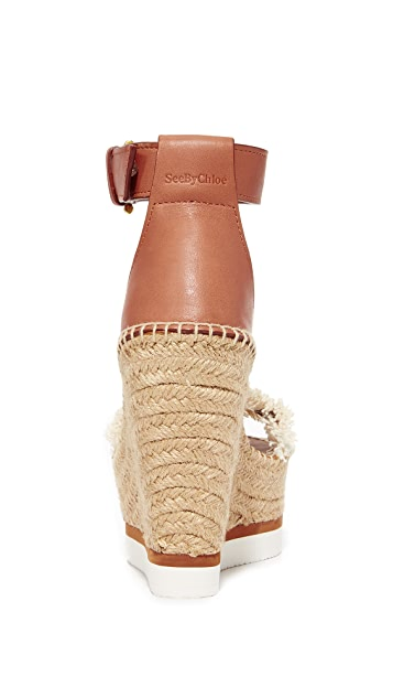 See by Chloe Wedge Espadrilles