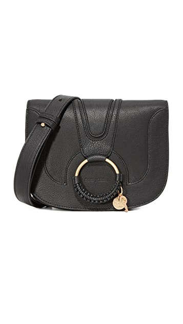 See by Chloe Hana Saddle Bag - Black