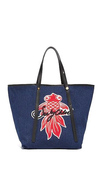 See by Chloe Andy Logo Tote Bag